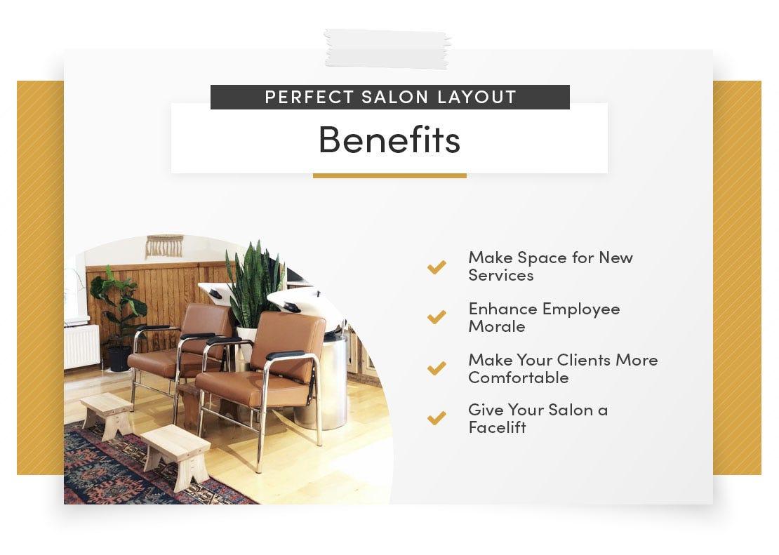 perfect salon layout benefits